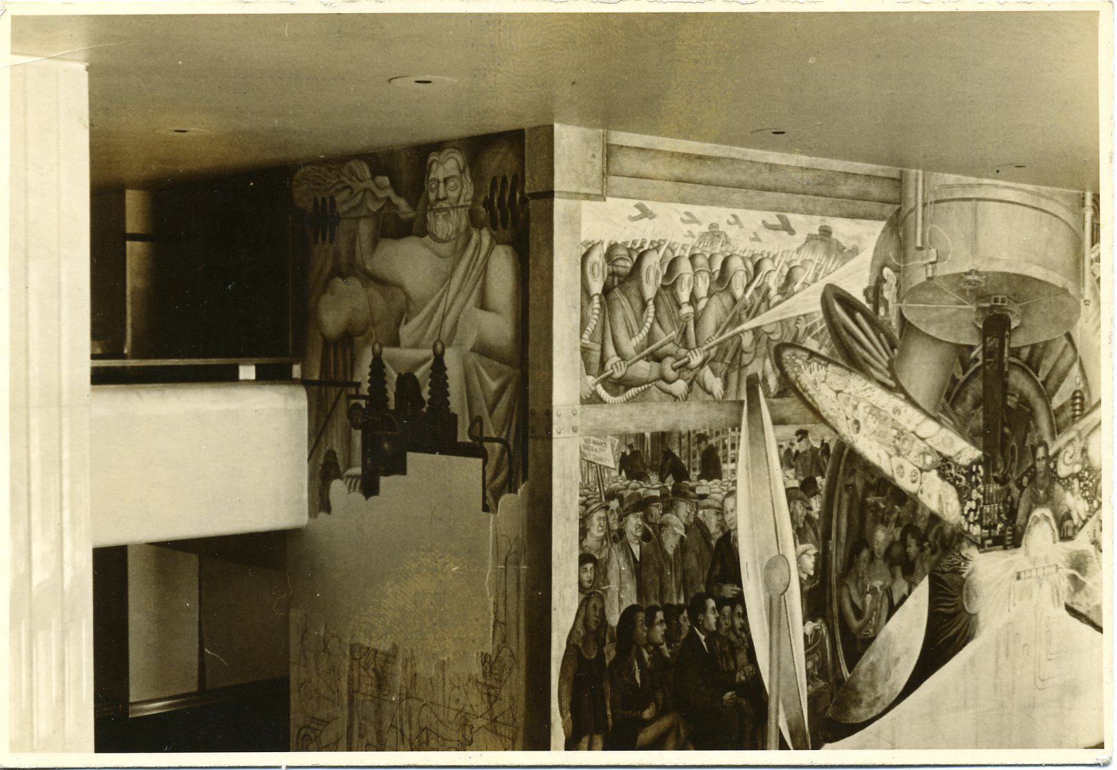 Mural diego rivera edificio rockefeller 28 images in for Diego rivera mural new york rockefeller
