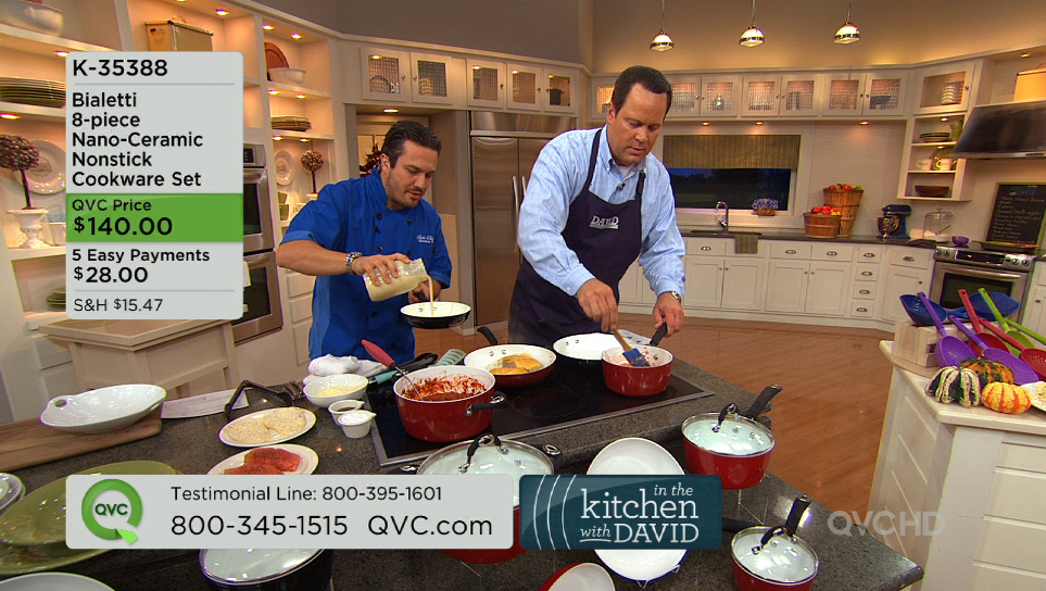 Food Informants: A Week In The Life Of David Venable, QVC Host