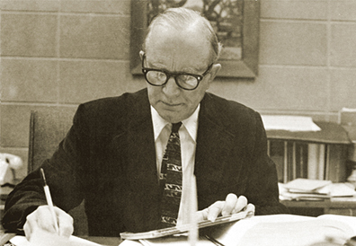 Judge Russell, Director of Menlo College, 1955-1977