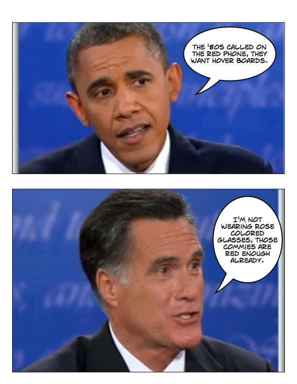 Obama and Romney square off in final debate page 3