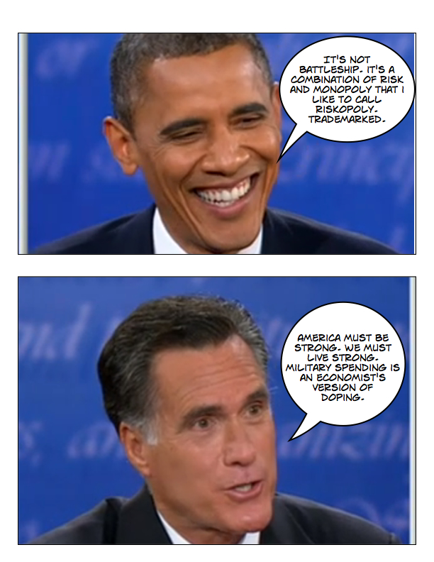Obama and Romney square off in final debate page 4