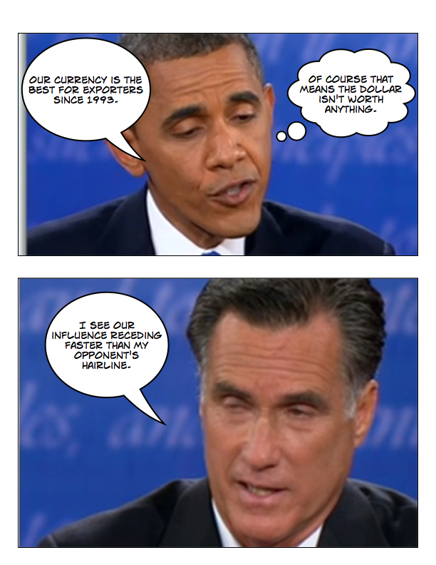 Obama and Romney square off in final debate page 6