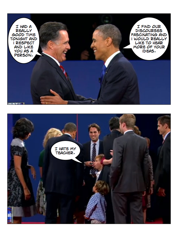 Obama and Romney square off in final debate page 8