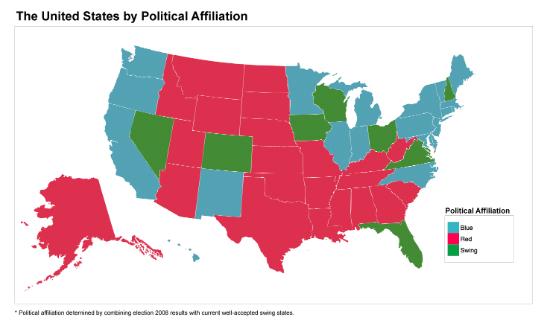 How Politics Influences Crowdfunding Behavior HuffPost - Us spectrum map