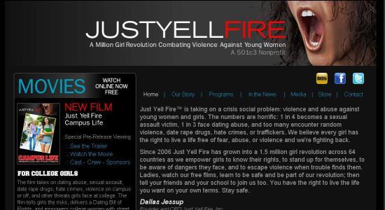 2012-10-31-justyellfire.JPG