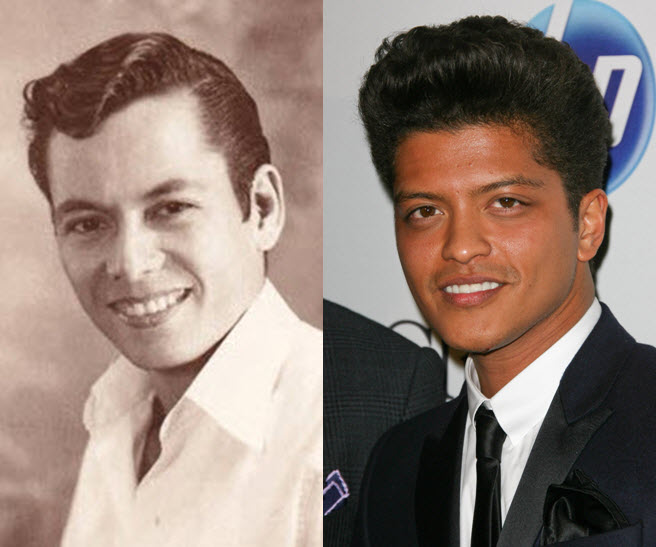 Bruno mars is hispanic
