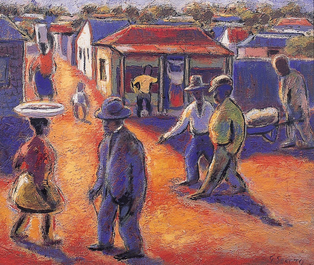 Artists: South African Art Theft: Four Stolen Paintings Found In