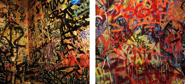 Beautiful Bathroom Graffiti bathroom graffiti on canvas with mint & serf   huffpost