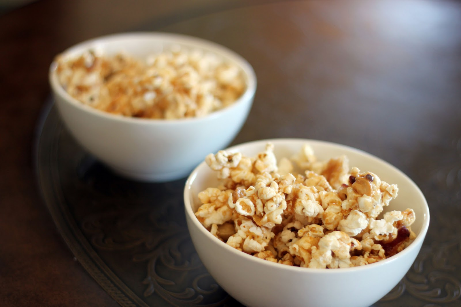 Bacon And Cashew Caramel Corn By Bon Appetit Recipes — Dishmaps