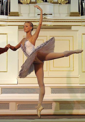 Long Lean Muscles Dancer's Body