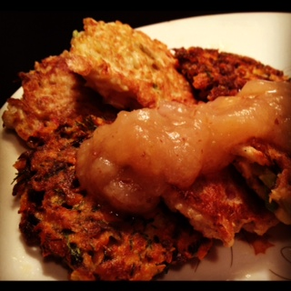 root vegetable latkes recipe root vegetable latkes with caramelized ...