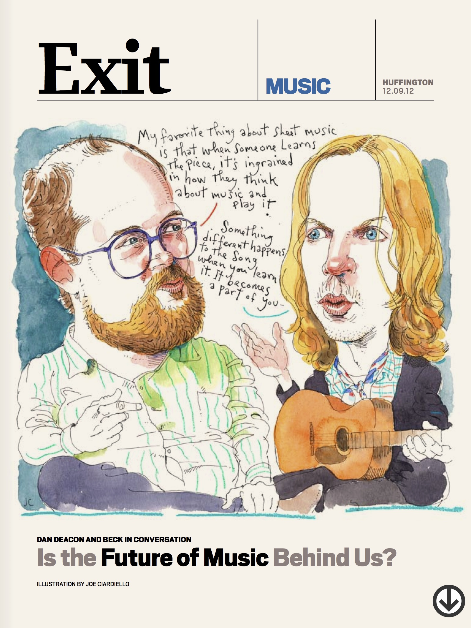 Dan Deacon And Beck In Conversation: Is The Future Of Music