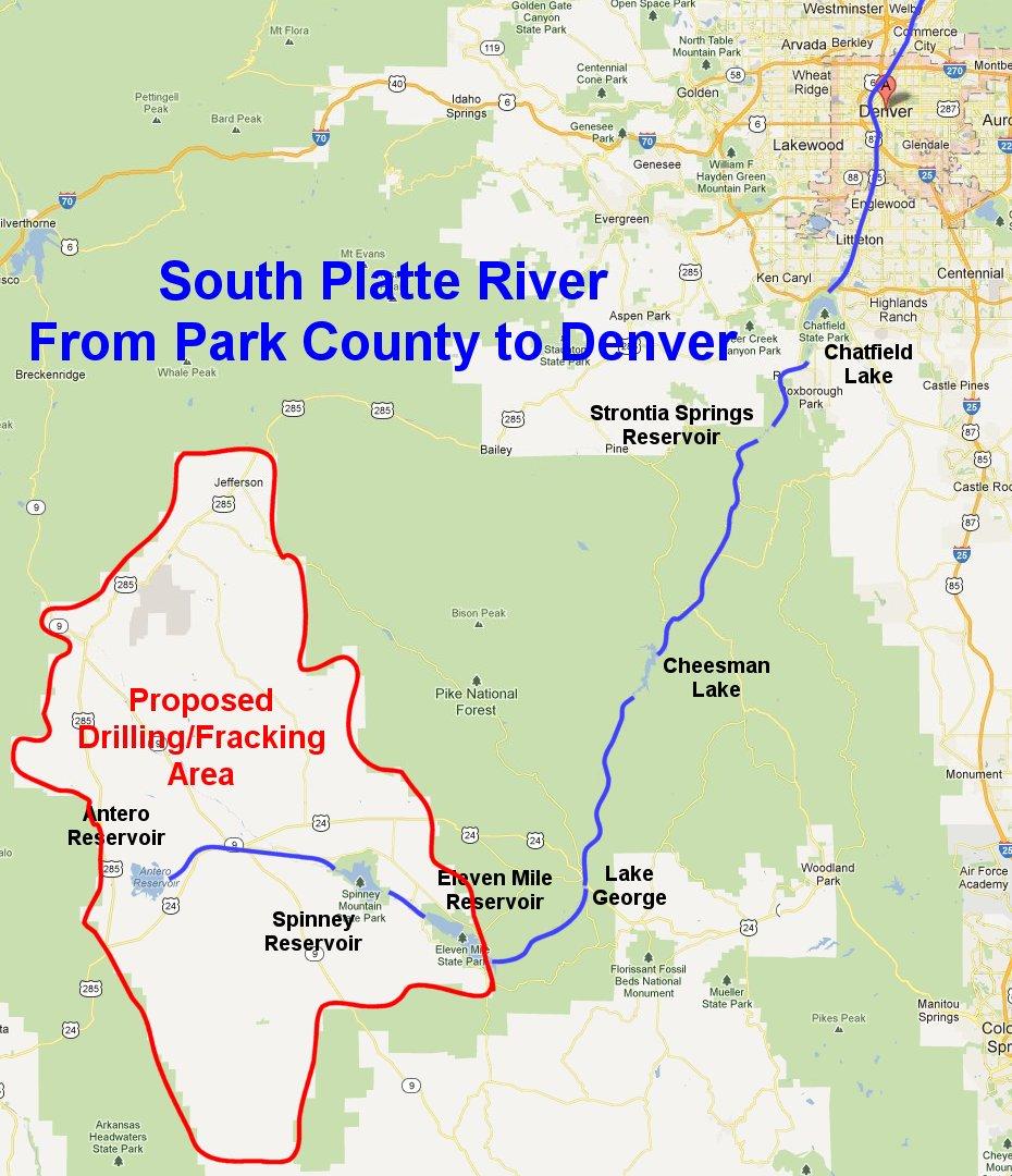 Don T Frack Denver S Water Huffpost