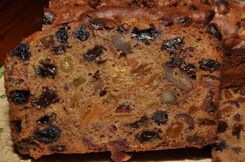 Old Fashion Fruit Cake Recipe