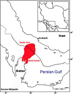 Qatar - Iran Gas Fields