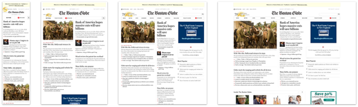 Boston Globe's breakpoints as seen on mediaqueri.es