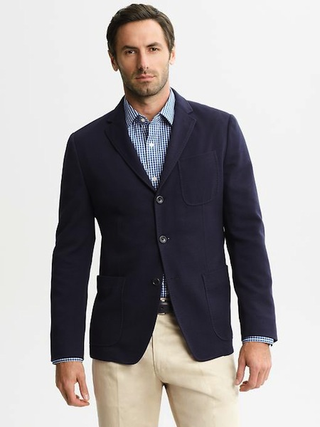 Men's Casual Blazers with Jeans