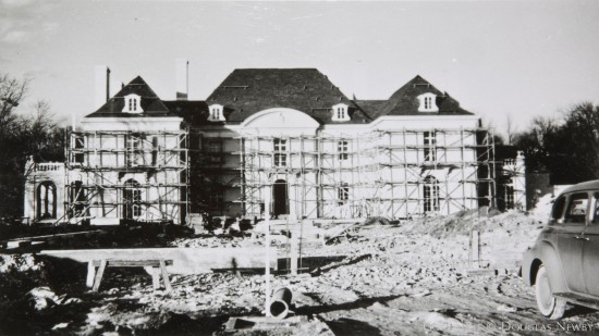 Original Photograph of Construciton at Crespi Hicks Estate