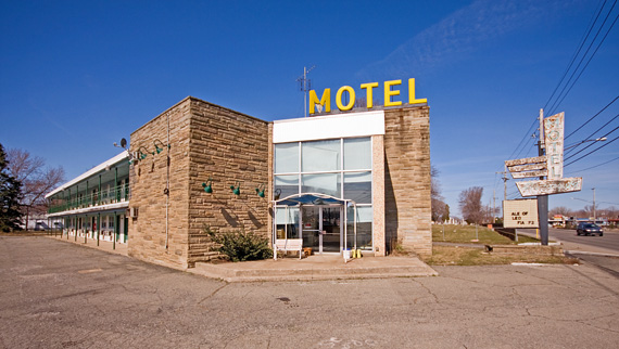 The faded motels of rust belt photos huffpost
