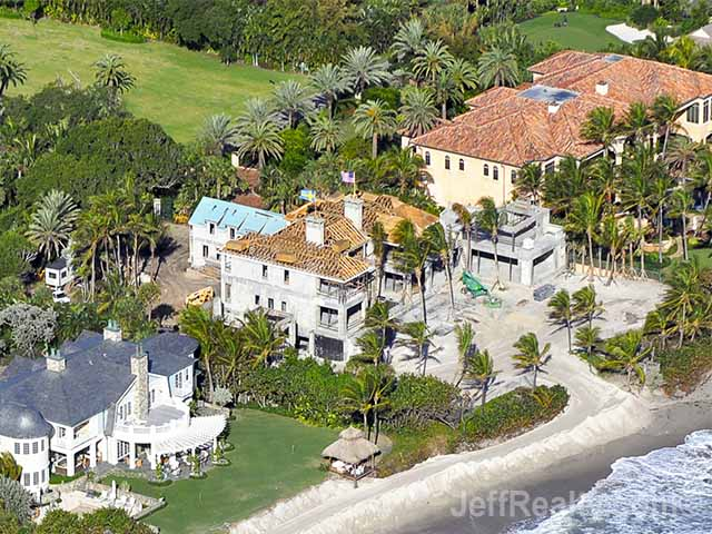 elin nordegren  tiger woods u0026 39  ex  continues construction on new florida home  photos
