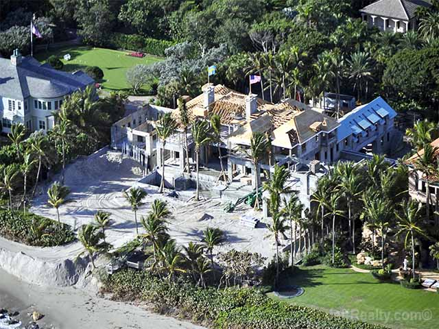 Elin Nordegren Tiger Woods Ex Continues Construction On