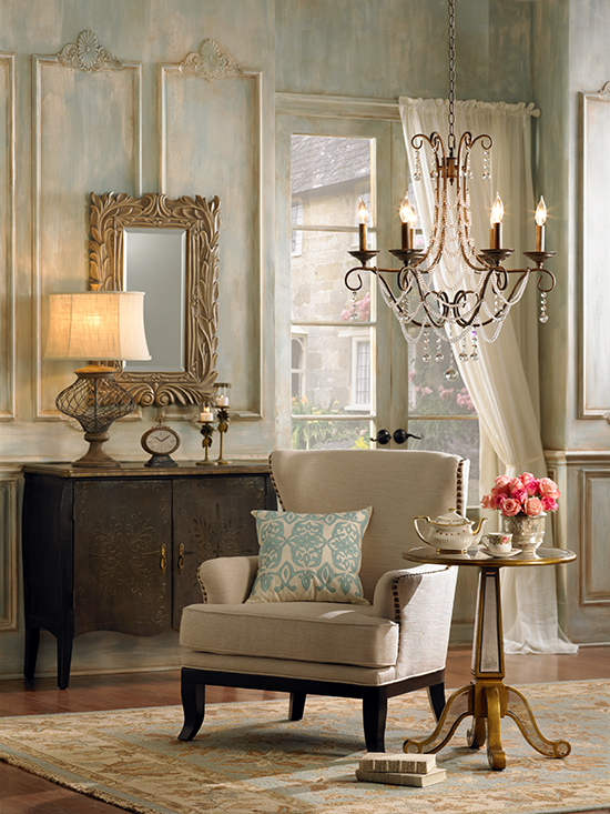All Of These Details Express The Charm Of French Inspired Decor