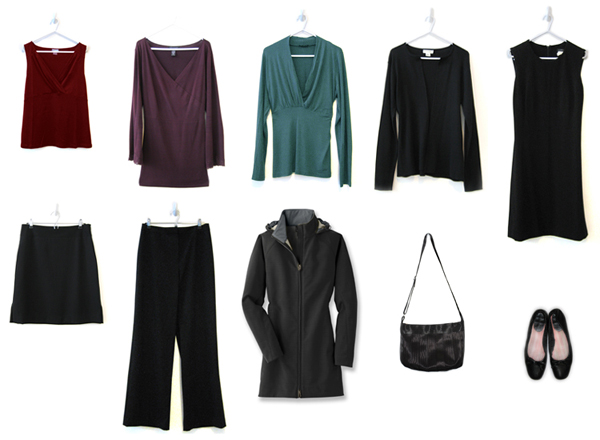 Minimalist Style The 10 Item Capsule Wardrobe Huffpost