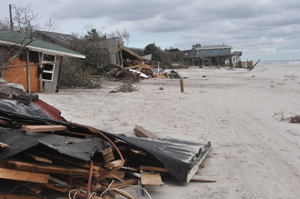 Fire Island after Sandy