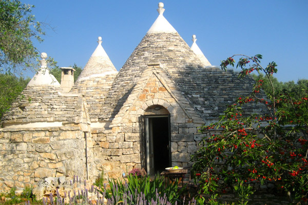 Traditional trulli