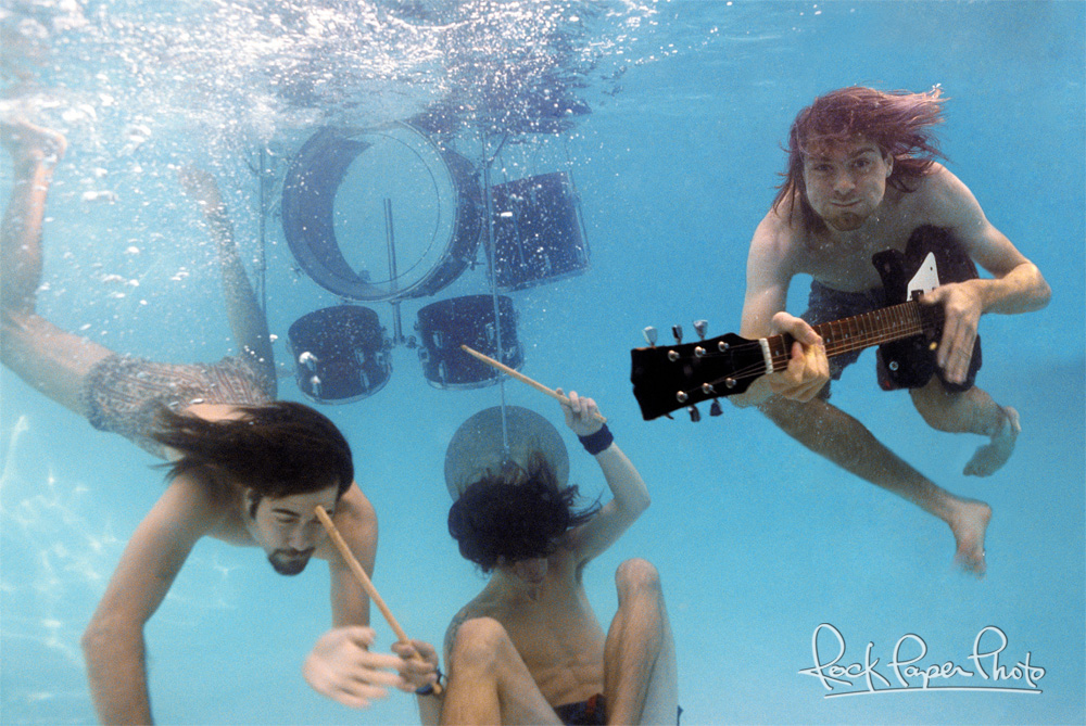 Floating Babies What The Story Behind Nirvanas Nevermind Cover