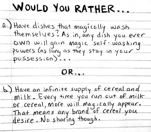 List Of Would You Rather Questions Dirty