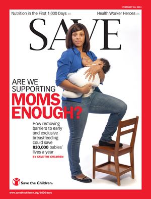 The Real Breastfeeding Scandal | Logging Miles