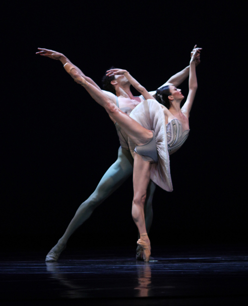 Victoria Jaiani and Fabrice Calmels in Stanton Welch's Son of Chamber ...