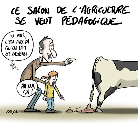 Le salon de l 39 agriculture se veut p dagogue - Salon de l agriculture place gratuite ...