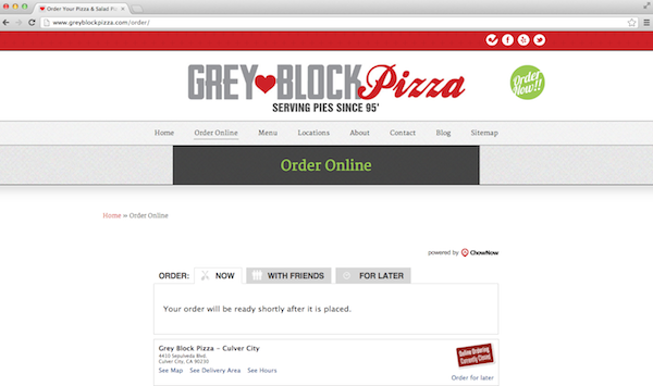 2013 02 25 GreyBlockonlineordering - Catering to Your Customers: 15 Restaurant Website Best Practices