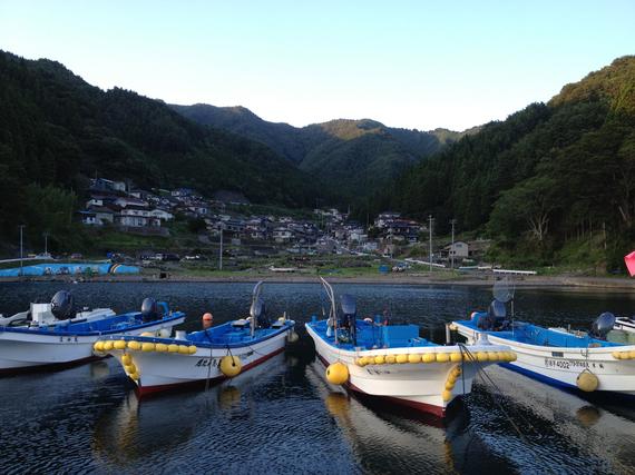 2013-02-25-POSTKAMAISHIII.pueblodeKerobevistodesdelaplayaKamaishiIwate.jpg