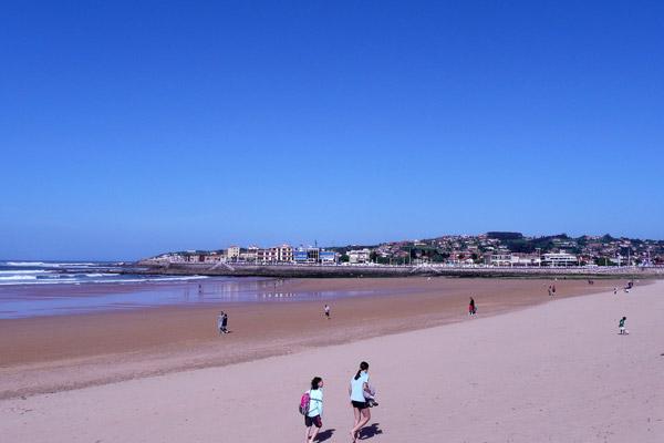 Beach at Gijón