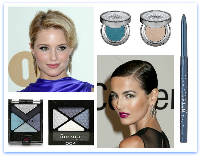 The Right Way to Wear Blue Eyeshadow