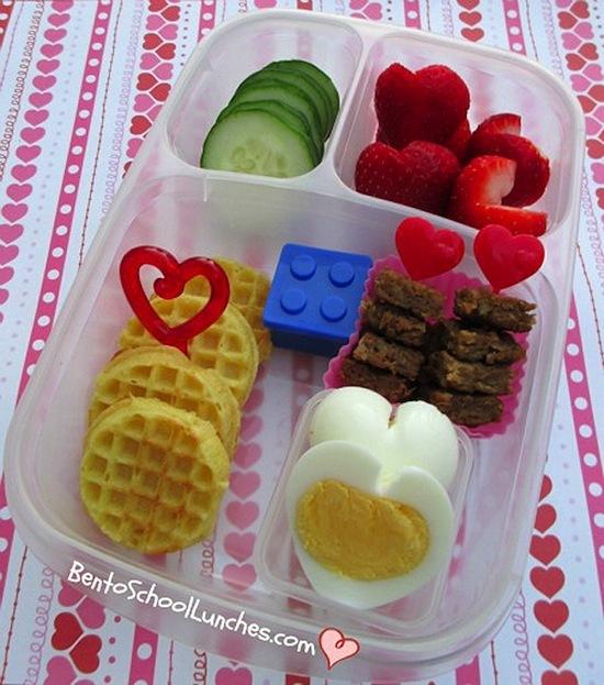 2013-03-03-Valentinesbreakfastwafflesheartshapedeggsveggieburgerforlunch.jpg