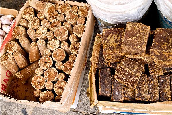 Bittersweet chocolate in Oaxaca