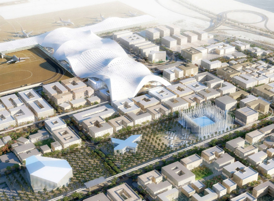 Oma chosen to masterplan airport city for hia airport in for Smart city design hotel