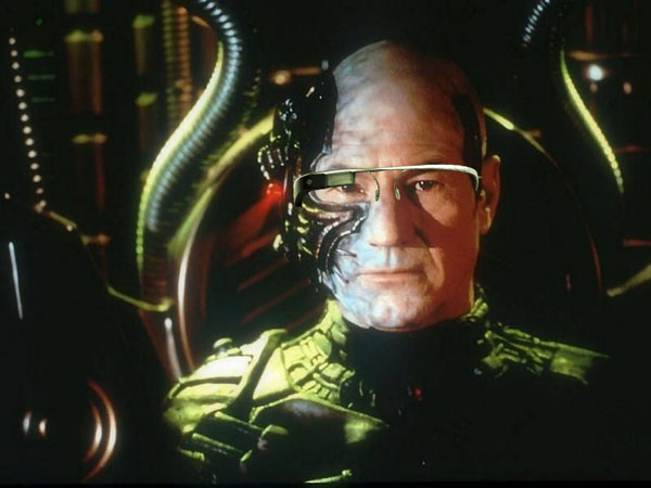 Beware of google 39 s mouthpieces about google glasses huffpost - We are the borg quote ...