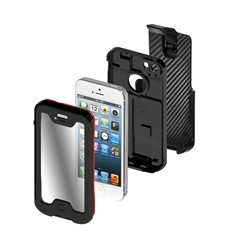 Seidio OBEX iPhone 5 Combo Case Exploded View