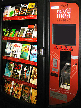 A Brief History Of Book Vending Machines Huffpost
