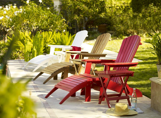 Colorful Outdoor Living Ideas