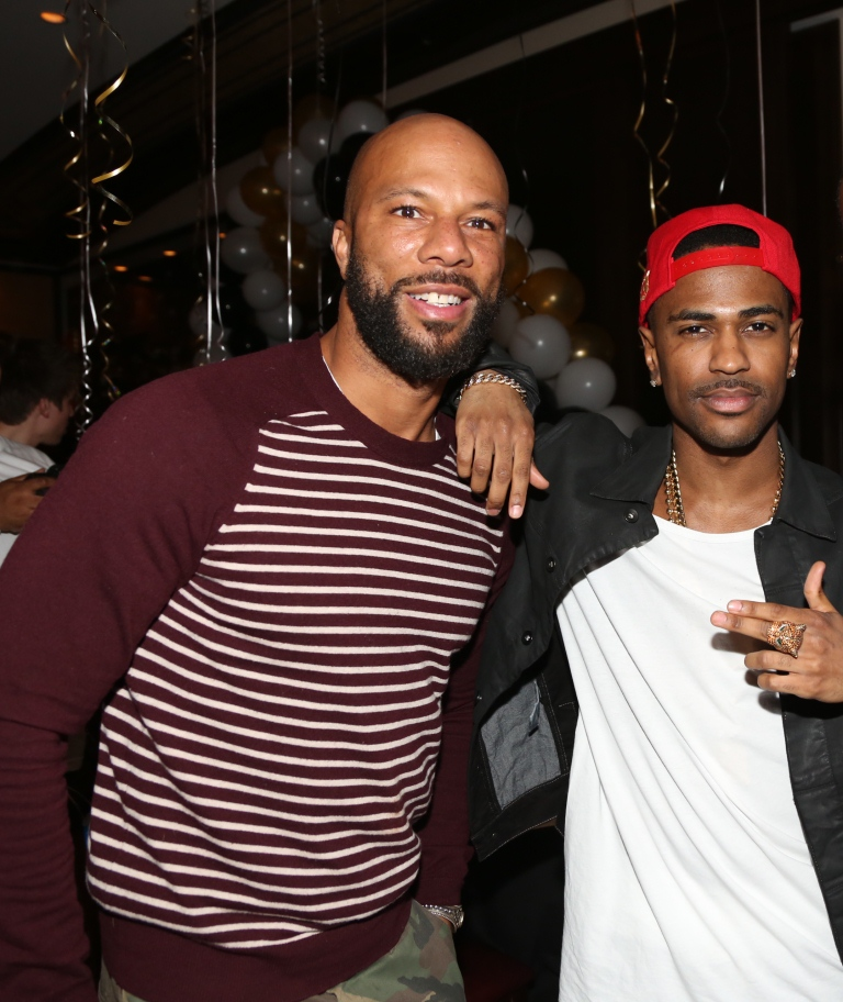 "Photo of Common & his friend musician  Big Sean - Song ""Switch Up"""