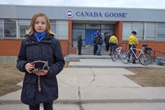 Canada Goose victoria parka replica 2016 - Is Canada Goose Afraid of Facing an 11-Year-Old Girl? | Shannon ...