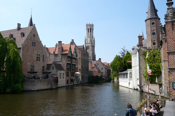 Travel the canals of beautiful Bruges