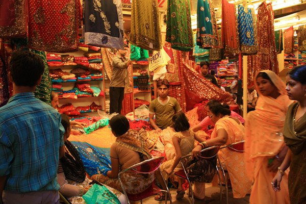 Jaipur's colourful Pink City market