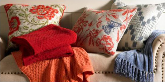 Mother's Day Gift Ideas - Pillows and Throws for the Bedroom